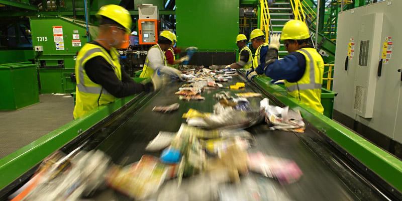Destinação correta de resíduos industriais