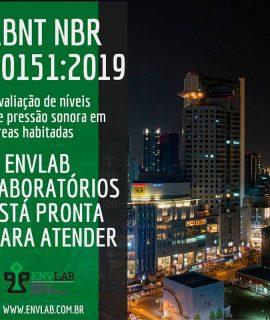 Nova revisão da norma ABNT NBR 10151